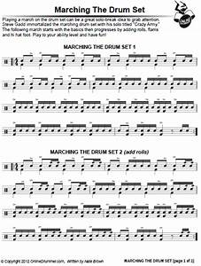 Army Military Marching Beat | OnlineDrummer.com