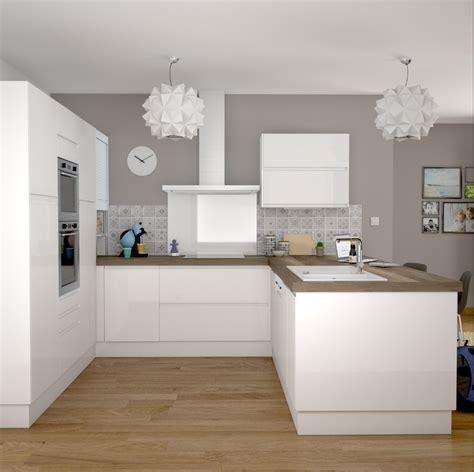 home staging cuisine rustique top cuisine quipe grise bois moderne filipen gris mat