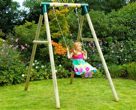 ideas happy kidsplay  wooden swing sets clearance