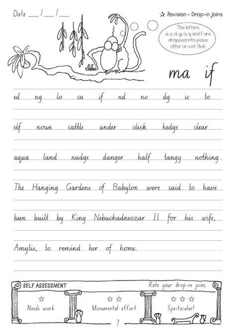 targeting handwriting nsw student book year 6 pascal