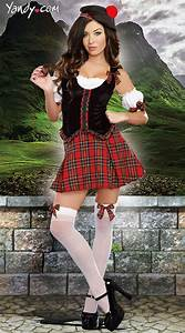 Kilted Scottie Hottie Costume | Knee high stockings, White ...