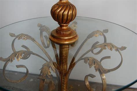 vintage regency italian tole table floor lamp