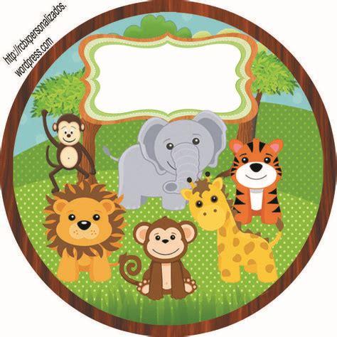 resultado de imagen para distintivos baby shower ni 241 o para imprimir safari la selva