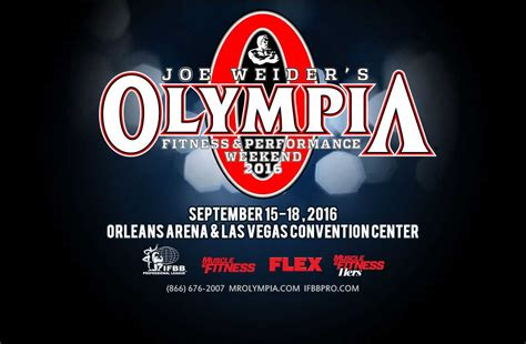 2016 Olympia Weekend: MASSIVE 2016 Guide!
