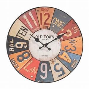 Horloge Murale Maison Du Monde : petite horloge maisons du monde ~ Teatrodelosmanantiales.com Idées de Décoration