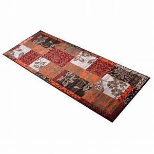 Läufer 80 X 300 : eleganter l ufer orange weinrot 80x300cm teppich flachflorteppich flachflor flur ebay ~ Markanthonyermac.com Haus und Dekorationen