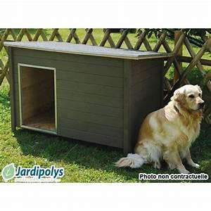 Niche Grand Chien Xxl : niche pour chien modern xxl jardipolys achat vente ~ Dailycaller-alerts.com Idées de Décoration