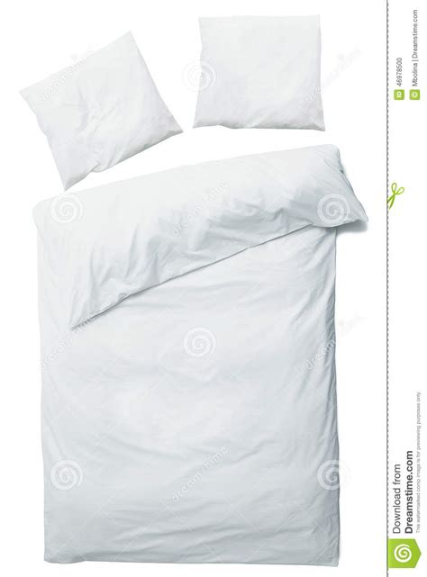 White Blanket Cover by White Blanket And Pillows Stock Photo Image Of Household