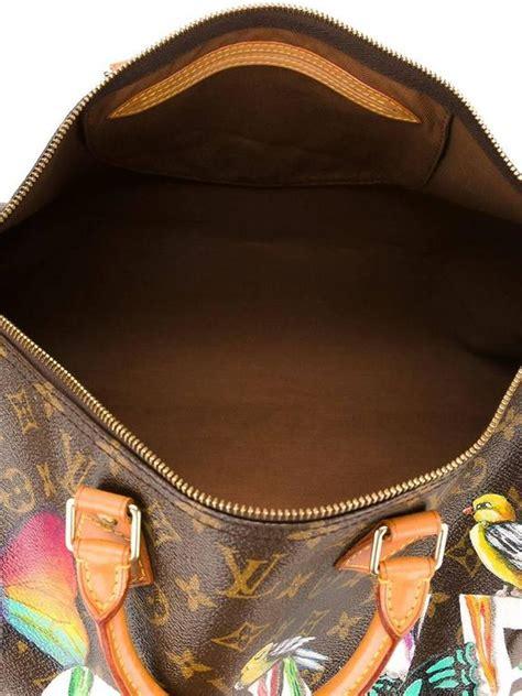 customised louis vuitton vintage dripping love bag  stdibs