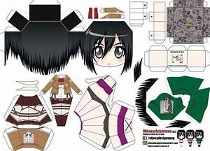 Printable Paper Crafts Anime Larissanaestrada