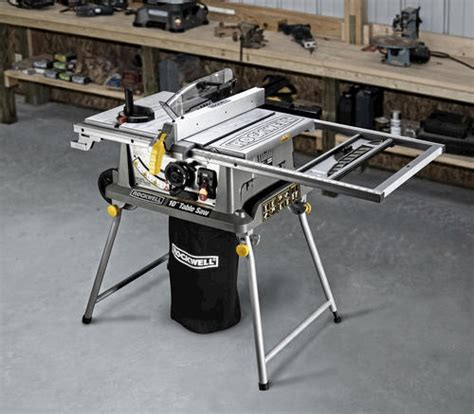 menards 4 tile saw rockwell 174 10 quot jobsite table saw with laser at menards 174