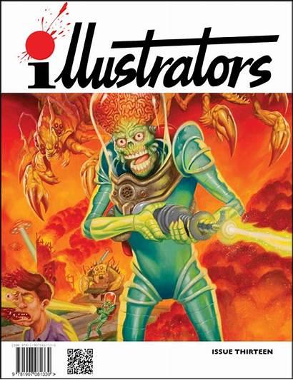 Illustrators Magazine Quarterly Issue Magazines Illustration Artists