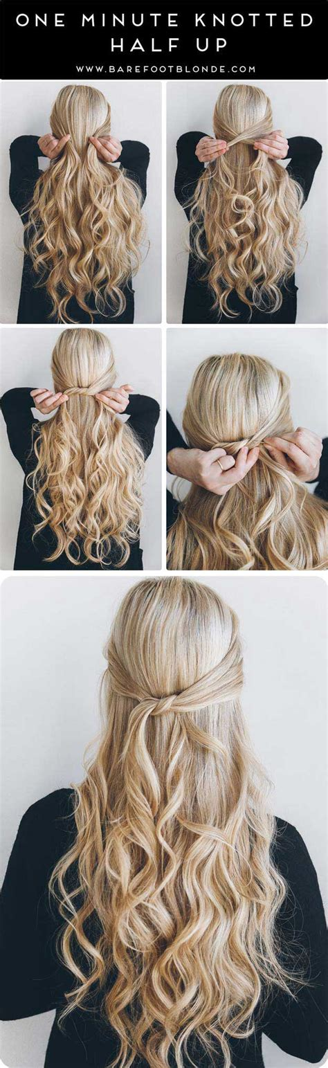 cute half up hairstyles for long hair 31 amazing half up half down hairstyles for long hair