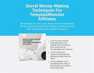 9 free e books about earning money online by With template monster affiliate program