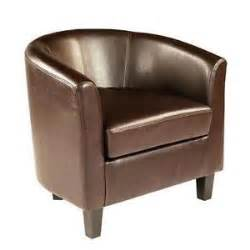 leather tub chairs ebay