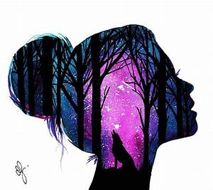 Fabulous Silhouette Painting by Danielle Foye FunPal Studio