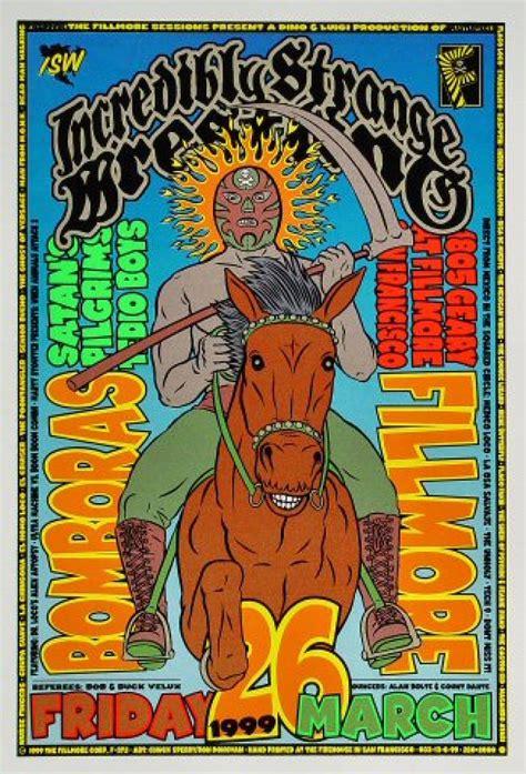 Incredibly Strange Wrestling Vintage Concert Poster from ...