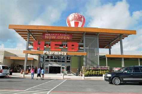 Look Inside H-e-b's New Cypress Grocery Store