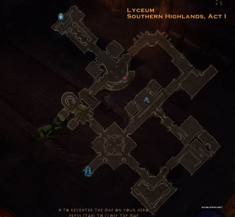 dungeon siege 2 items the lyceum map diablo wiki