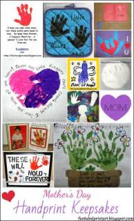 Mother's Day Handprint Craft Ideas
