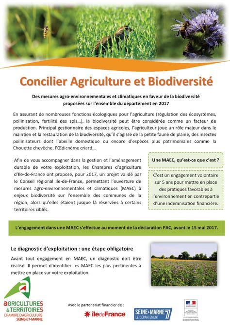 chambre d agriculture 77 biodiversité