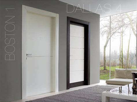 Porte Interne Laccate Bianche Porte Bianche E In Legno Moderne Laccate Opaco O Lucido