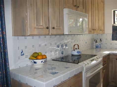 tiled kitchen backsplash hilger backsplash westraven delft tiles traditional 2781