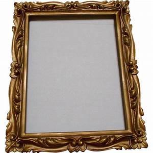 Carved Gold Wood Frame Vintage Ormolu Decorative from ...