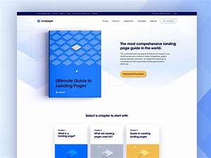 Landing Page Guide By Greg Howell For Leadpages On Dribbble