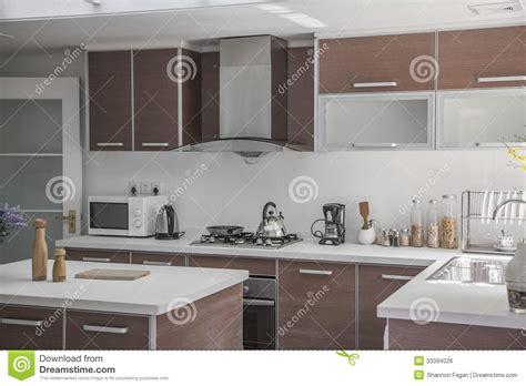 grande cuisine moderne grande ouverte moderne cuisine photo stock image 33394026