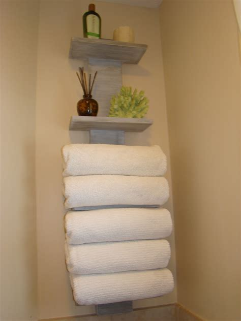 bath finally   towel storage