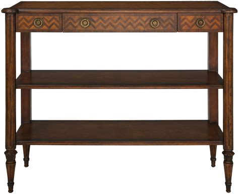 Wood Crafted Console Table