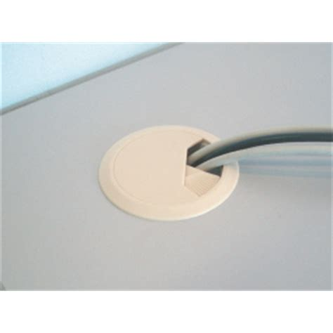 desk cord hole cover cable management cord cover desk ivory cc6761 zone hardware