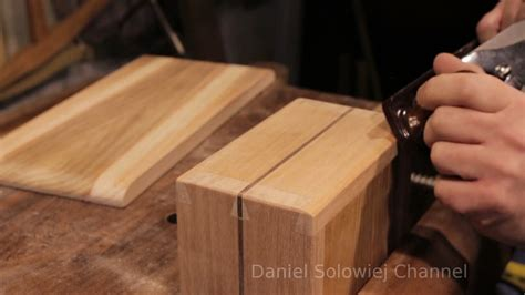 wooden box hand tools  daniel solowiej