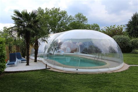 Cristalball Inflatable Dome For Pools