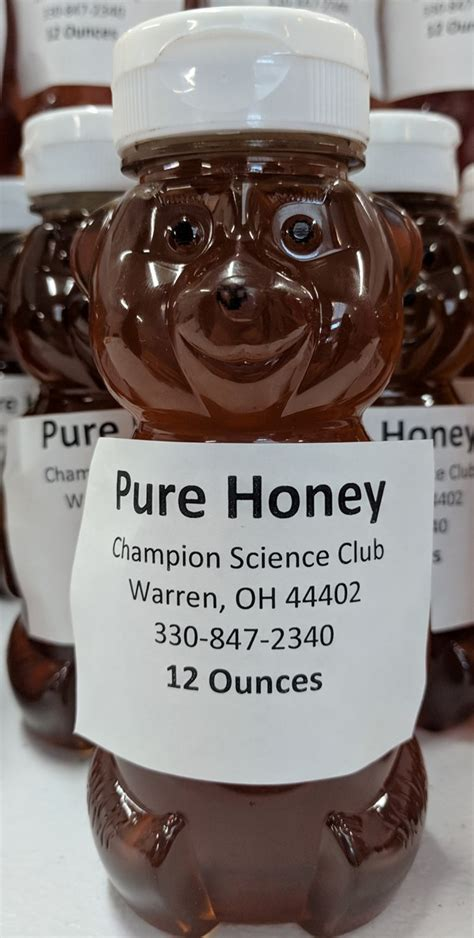 local clover honey produced cms science club sale champion