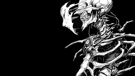 Anime Skull Wallpaper - skeleton hd wallpaper and background image