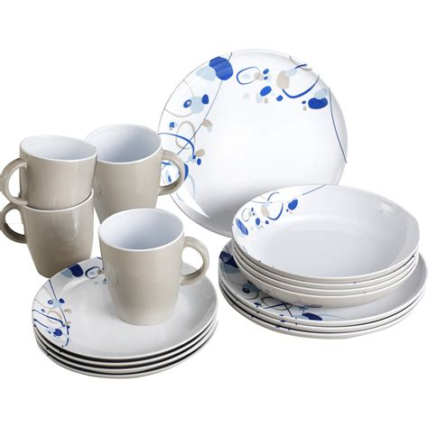 melamine dinnerware sets brunner lunch box melamine dinnerware set 16 pieces ebay