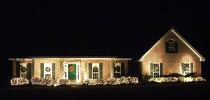 beautiful outdoor christmas decorating ideas With outdoor lighting ideas for ranch house