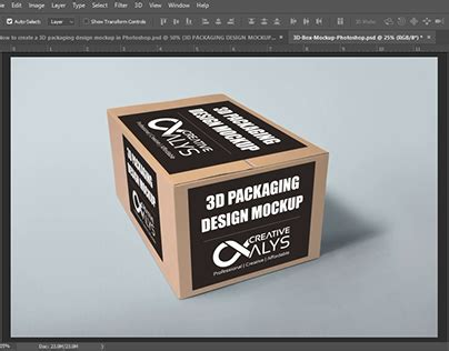 Can be used in private and commercial works. Illustrator 3d Packaging Design Mockup - Free PSD Mockups ...