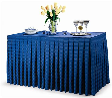table cloth skirting design poly stripe table skirts premier table linens