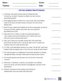 story problems grade word problems worksheets dynamically created word problems