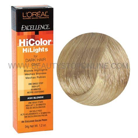hi color loreal l oreal excellence hicolor ash stop