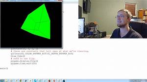 OpenGL with PyOpenGL tutorial Python and PyGame p.1 ...