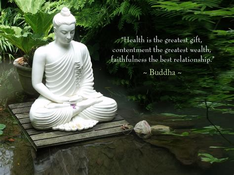 81 motivational quotes of buddha. WALLPAPER WITH POSITIVE QUOTE BY LORD BUDDHA : HEALTH IS THE GREATEST GIFT | | Dont Give Up World