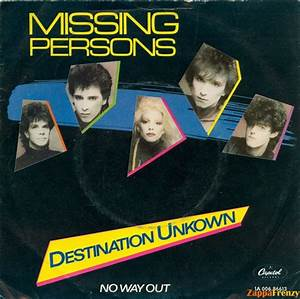 Destination Unknown/No Way Out
