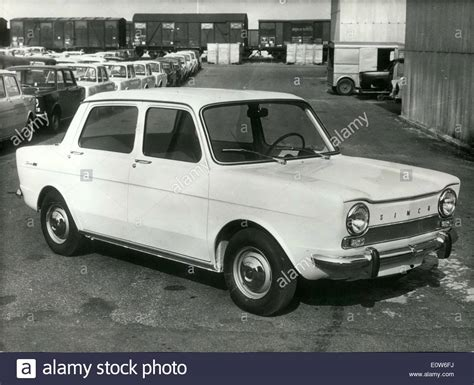 Oct. 03, 1961 - The New ''Simca 1000' Stock Photo, Royalty ...