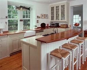 Kitchen Raised Counter Bar Design