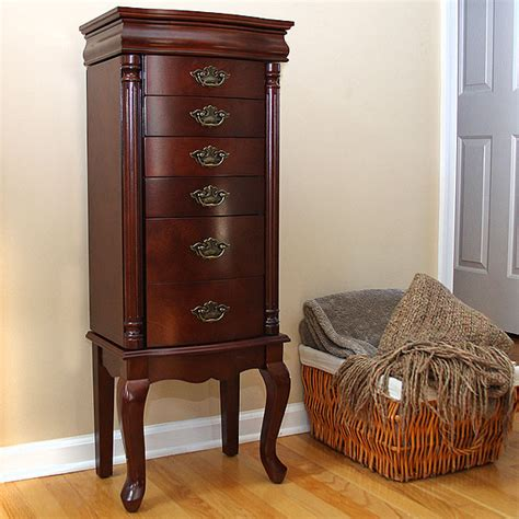 Petrus Provincial 6drawer Jewelry Cabinet Armoire