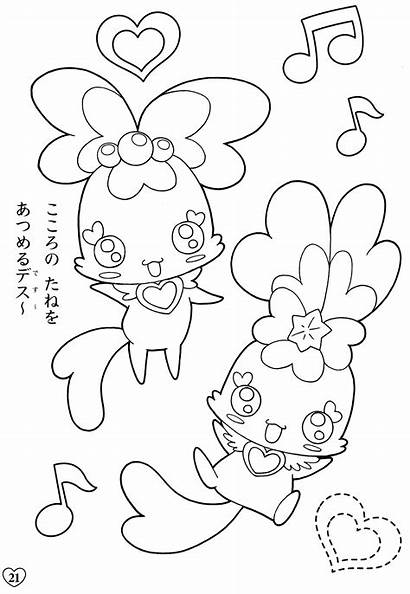 Coloring Pages Pretty Cure Precure Yes Fresh